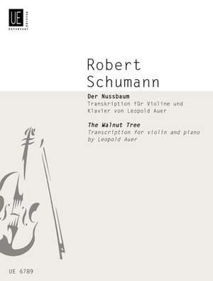 Schumann R: The Walnut Tree (Der Nussbaum)