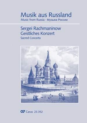 Rachmaninow: Geistliches Konzert