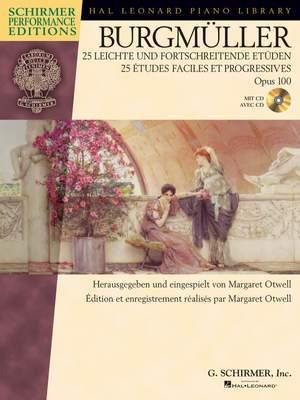 Friedrich Burgmüller: 25 leichte & fortschr. Etüden, Op.100