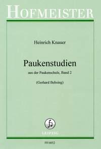 Heinrich Knauer: Paukenstudien
