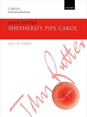 Rutter, John: Shepherd's Pipe Carol