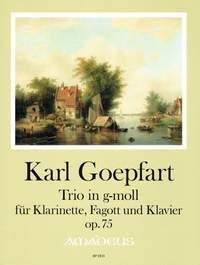 Goepfart, K: Trio op. 75