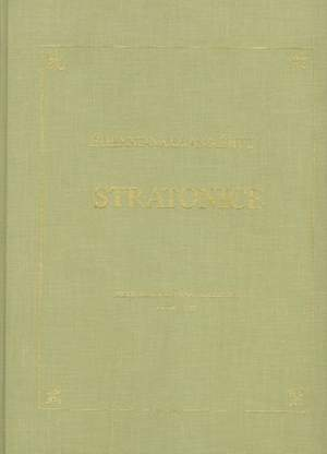 Stratonice - Comedie heroque (1792)