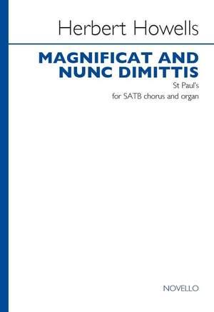 Herbert Howells: Magnificat And Nunc Dimittis - St Paul's