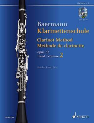 Baermann, C: Clarinet Method op. 63 Band 2: No. 34-52