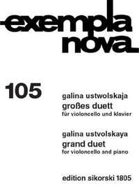 Galina Ustvolskaya: Großes Duett