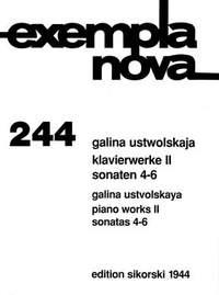 Galina Ustvolskaya: Klavierwerke