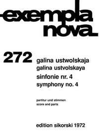 Galina Ustvolskaya: Sinfonie Nr. 4