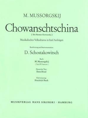 Modest Musorgski: Khovanshchina