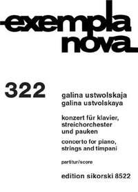 Galina Ustvolskaya: Konzert