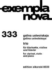 Galina Ustvolskaya: Trio