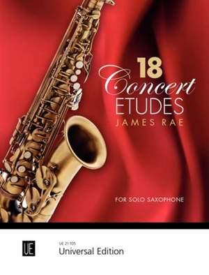 Rae, James: 18 Concert Etudes