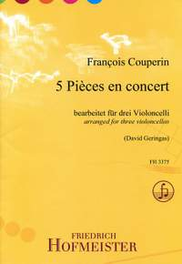 Couperin, F: 5 Pièces en concert