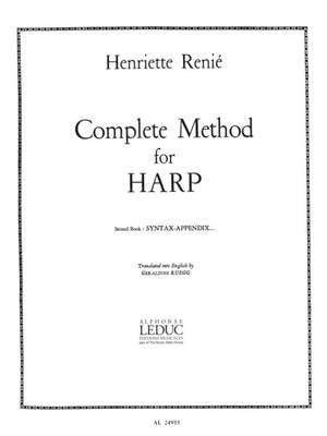 Henriette Renié: Complete Method for Harp Vol. 2