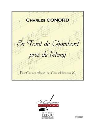 Charles Conord: En Foret de Chambord Pres de Letang
