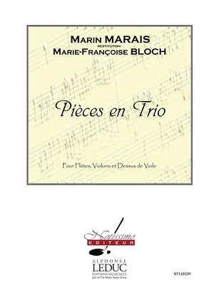 Marin Marais: Marais Pieces en Trio