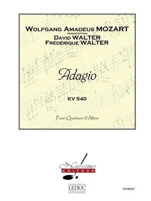 Wolfgang Amadeus Mozart: Mozart Adagio