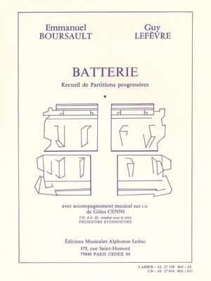 Guy Lefèvre: Batterie - Recueil de Partitions Progressives