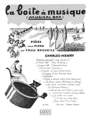 Charles-Henry: Boite A Musique N024 Joyeux Noel Piano