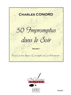 Charles Conord: 50 Impromptus Dans Le Soir Vol 1