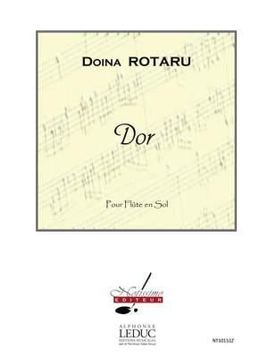 Doïna Rotaru: Rotaru Dor Flute Solo Product Image