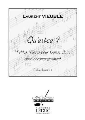 Laurent Vieuble: Vieuble Quest Ce - Petites Pieces