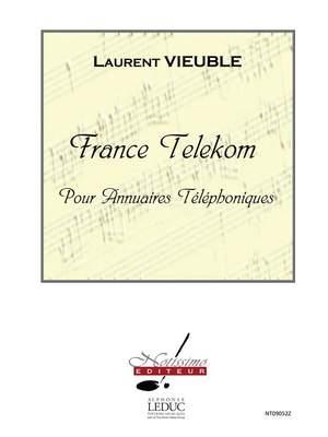 Laurent Vieuble: France Telekom - Voix et Annuaires Telephoniques