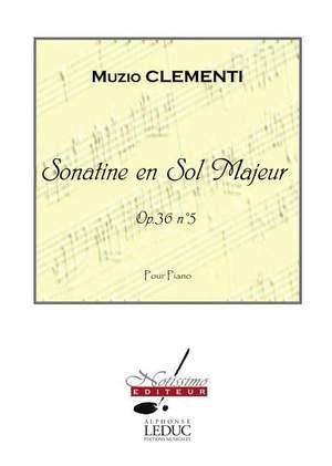 M. Clementi: Sonatine En Sol Majeur Op36N05