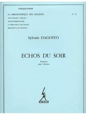Dagosto: Echos Du Soir -Romance