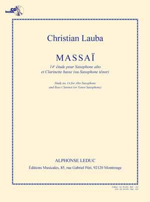 Christian Lauba: Lauba Massai 14e Etude Duo avec Saxophone Product Image