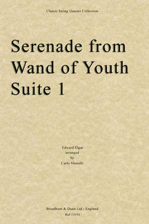 Elgar, Edward: Serenade from Wand of Youth Suite One