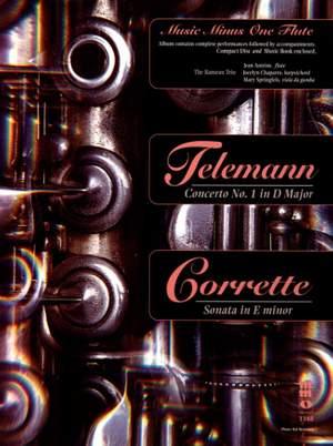 Flute Concerto no.1 in D - Sonata E-minor Product Image