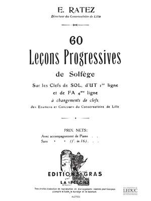 Ratez: 60 Lecons Progressives De