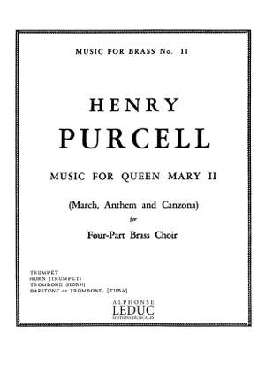 Henry Purcell: Music For Queen Mary II