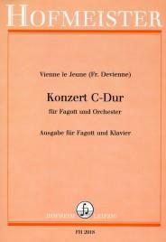 François Devienne: Konzert C-Dur für Fagott und Orchester