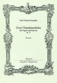 Karl Eduard Goepfart: Zwei Charakterstücke, op. 31