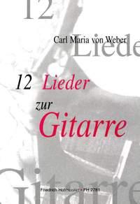 Carl Maria von Weber: 12 Lieder