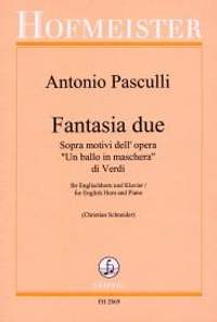 Antonio Pasculli: Fantasia due sopra