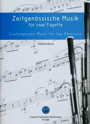 Zeitgenössische Musik für 2 Fagotte