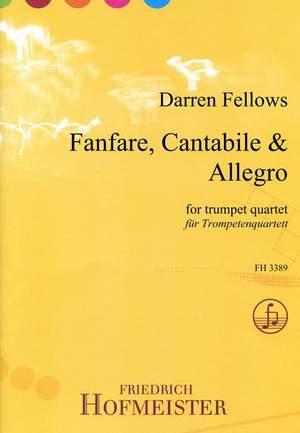 Darren Fellows: Fanfare, Cantabile & Allegro