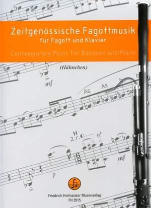 Zeitgenössische Musik für Fagott und Klavier