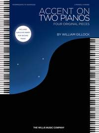 William Gillock: Accent On Two Pianos - 2 Pianos 4 Hands