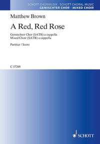 Brown, M: A Red, Red Rose