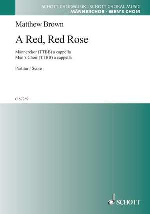Brown, M: A Red, Red Rose Product Image