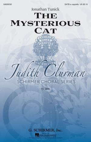 Jonathan Tunick: The Mysterious Cat