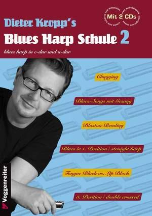 Kropp, D: Kropp's Blues Harp Schule Bd. 2