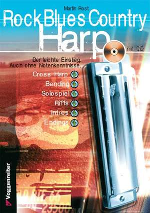 Rost, M: Rock Blues Country Harp