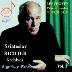 Sviatoslav Richter Archives, Volume 1