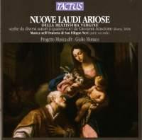 Nuove Laudi Ariose della Beatissima Vergine