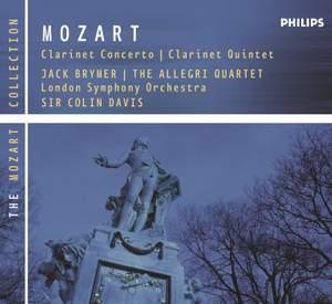 Mozart: Clarinet Concerto in A major, K622, etc.